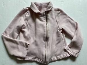 GYMBOREE Jacket 7 8 M Pink Sweatshirt ZIP-up Cost School fall