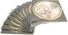 10 Sätze Türkei 425.000 Lire 2002 stgl. Türkische Blumen KMS im Folder