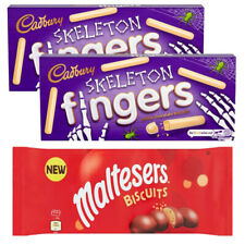 CHRISTMAS SELECTION 2 X FINGERS WHITE CHOCOLATE & MALTESERS CHOCOLATE BISCUITS