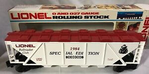 Lionel 6-0784 ~ Railroad Club Covered Hopper (Special Edition) ~ NEW IN BOX