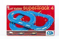 FORMULA 1 Supertrack 4 SLOT CAR RACING PISTE TRACKS VINTAGE TOY BY PLAYART 3284