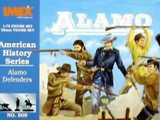 Imex 1/72nd Alamo Defenders Plastic Figures Set 509 New In Box!