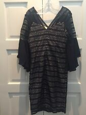 Gorgeous Dress Size 12 NAVY cocktails Party Birthday Engagement Work Carreer