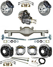 NEW SUSPENSION & WILWOOD BRAKE SET,CURRIE REAR END,POSI-TRAC GEAR,BOOSTER,879313