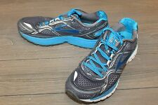 Brooks Adrenaline GTS 17 Running Shoe Anthracite/Electric Blue/Silver Men's 12D