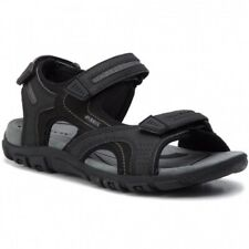 Geox Respira Uomo Sandal Strada D Herren Sandalen U8224d Black / Stone Schwarz