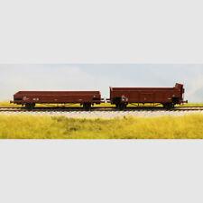 Set 2 carri a sponde delle FS con garitta - Art. Acme 45100