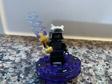 Lego Ninjago Lord Garmadon mini figure Njo013 2011 With Spinner And Weapon