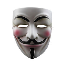 New Resin Mask V For Vendetta Anonymous Movie Adult Guy Halloween Cosplay Props