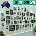 3 11 26 30 PCS Picture Photo Frame Set Wall Home Decor Art Colour Gift