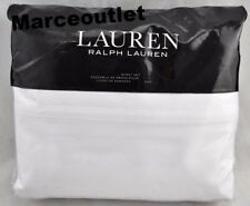 Ralph Lauren Spencer 475 Thread Count Sateen King Sheet Set White