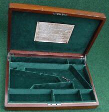 ANTIQUE CASE FOR A COLT 1851/61 NAVY PERCUSSION REVOLVER GUN.
