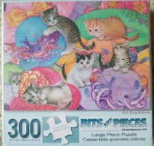 SET OF 3 - 300 PC LG FORMAT Bits & Pieces Jigsaw Puzzles --SEALED