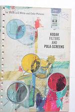 Kodak 1965 AB-1 Filters and Pola Screens Info Guide - English USED B60
