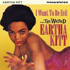 EARTHA KITT - I WANT TO BE EVIL   CD NEUF