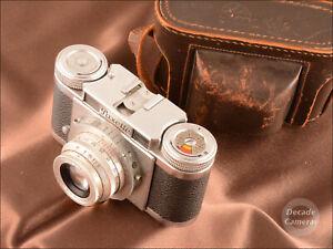 Braun Nurnberg Paxette Prontor S Pontar 45mm f2.8 Viewfinder 35mm Camera - 758