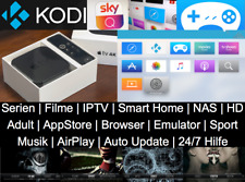 APPLE TV 4K & HDR / 64GB | KODI 17.6 | SKY Q | SAFARI | PROVENANCE | UVM. VORAB