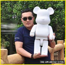 1000% Bearbrick White DIY fashion Toy BE@RBRICK Action Figure {High Quality}