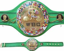 WBC Jeff Championship Belt Adult Size Replica Adult Size Reap Leather
