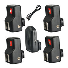 PT-04GY Wireless/Radio Flash Trigger +4 Receiver for Canon Nikon DSLR Camera