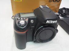 NIKON D80 10.2 MP DIGITAL SLR CAMERA BODY + BATTERY & CHARGER IN ORIGINAL BOX