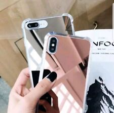 For Apple IPhone 6 6S 7 8 X XS 11 MIRROR Phone Case TPU Hard PC Back Cover