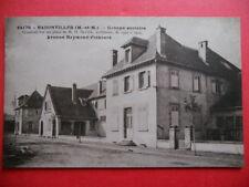 BADONVILLER  :  Le Groupe Scolaire Avenue Raymond Poincaré.