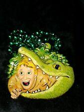 Crocodile Hunter 2003 Krewe of Bacchus Float Theme Bead Fantasy World Mardi Gras