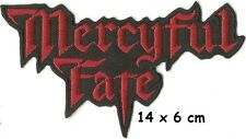 Mercyful fate - shape patch - FREE SHIPPING