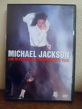 DVD - MICHAEL JACKSON - Live in Bucharest - The dangerous tour - Etat Excellent