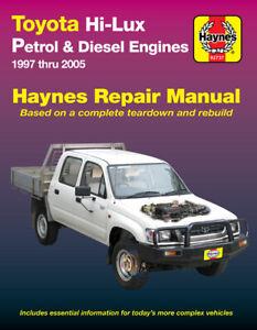 Toyota HiLux RZN, VZN, LN, KZN 1997-2005 Repair Manual