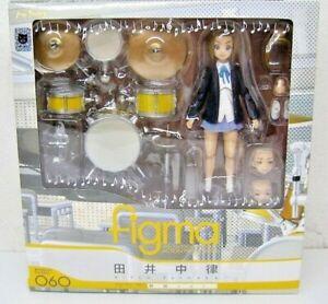 K-On Figma Action Figure Set Of 5 Yui Mio Ritsu Tumugi Azusa USED