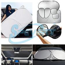 6x Tendine Parasole Parabrezza Ripiegabile Per Auto Solare Riflettente Copertura