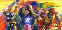 Alex Ross SIGNED Invincible - Deluxe Giclee on Canvas Limited Edition of 100