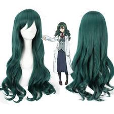 Shimoneta SOX fuwa hyouka dark green Anime Cosplay party heat resistant Wig E616