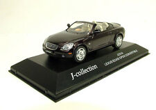 J-Collection 1/43 Lexus SC430 Open Convertible blackish red