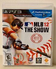 Mlb 12: el show (Sony PlayStation 3, 2012) PS3 Mover compatibles juego ~ Completo