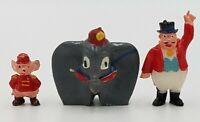 Vintage Marx Disney Miniatures Disneykins Figure Dumbo Timothy Ringmaster Lot