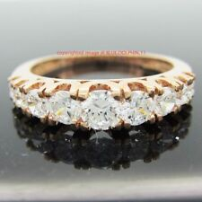 Cubic Zirconia Band Not Enhanced Fine Rings
