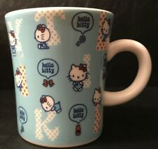 Vintage hello Kitty Tea Coffee Mug blue
