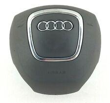 Genuine OEM Audi A4 B7 8H A3 8P drivers grey airbag 4 spoke steering wheel   14D
