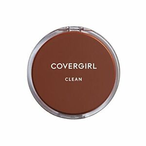 COVERGIRL Clean Pressed Powder Foundation Soft Honey 155, .39 oz (packaging may