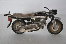 Old Wooden Handpainted Motorcycle Model , Collectible