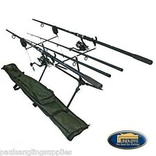 Lineaeffe Complete Carp Kit Rods,Reels,Alarms,Pod,Holdall,Line Set Up