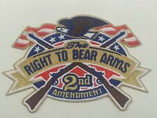 RIGHT TO BEAR ARMS  sew on high quality EMBLEM-Patch GIFT?