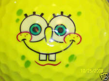 SPONGE BOB SQUARE PANTS LOGO GOLF  BALL