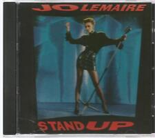 JO LEMAIRE rare STAND UP 1987 Polydor Records GERMAN IMPORT CD 10 tracks 8322612