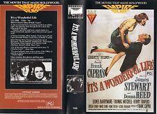 IT'S A WONDERFUL LIFE - Stewart  VHS -PAL-NEW-Never played!! Original Oz release