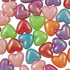 Perline sfuse di perla a cuore