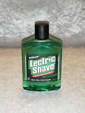 New Old Stock Original Lectric Shave Electric Razor Pre Shave - 7oz Full Bottle